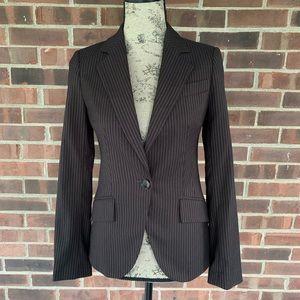 Zara pinstripe blazer jacket